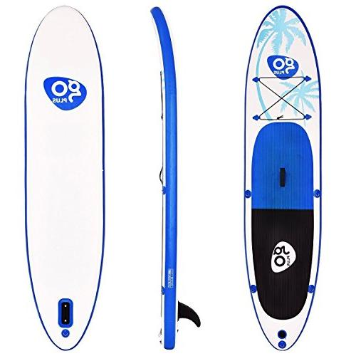 Goplus 11' Inflatable Up w/ Fin Paddle Pump 6""