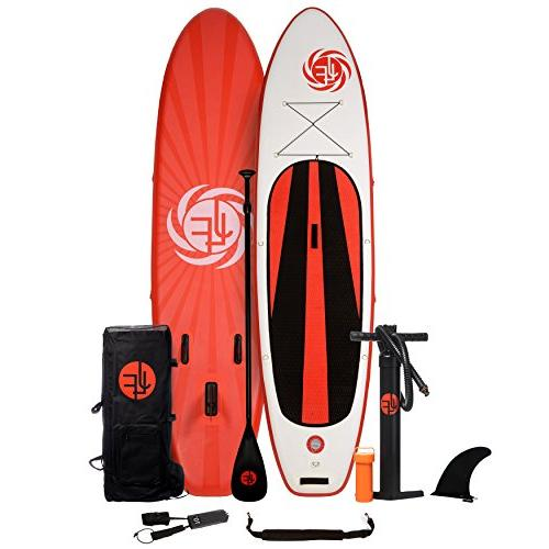 inflatable stand paddle board includes