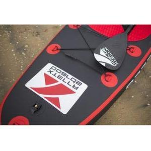XTERRA Inflatable 10' Up Premium SUP Bundle Board , Paddle, Carry Ankle Leash Kit