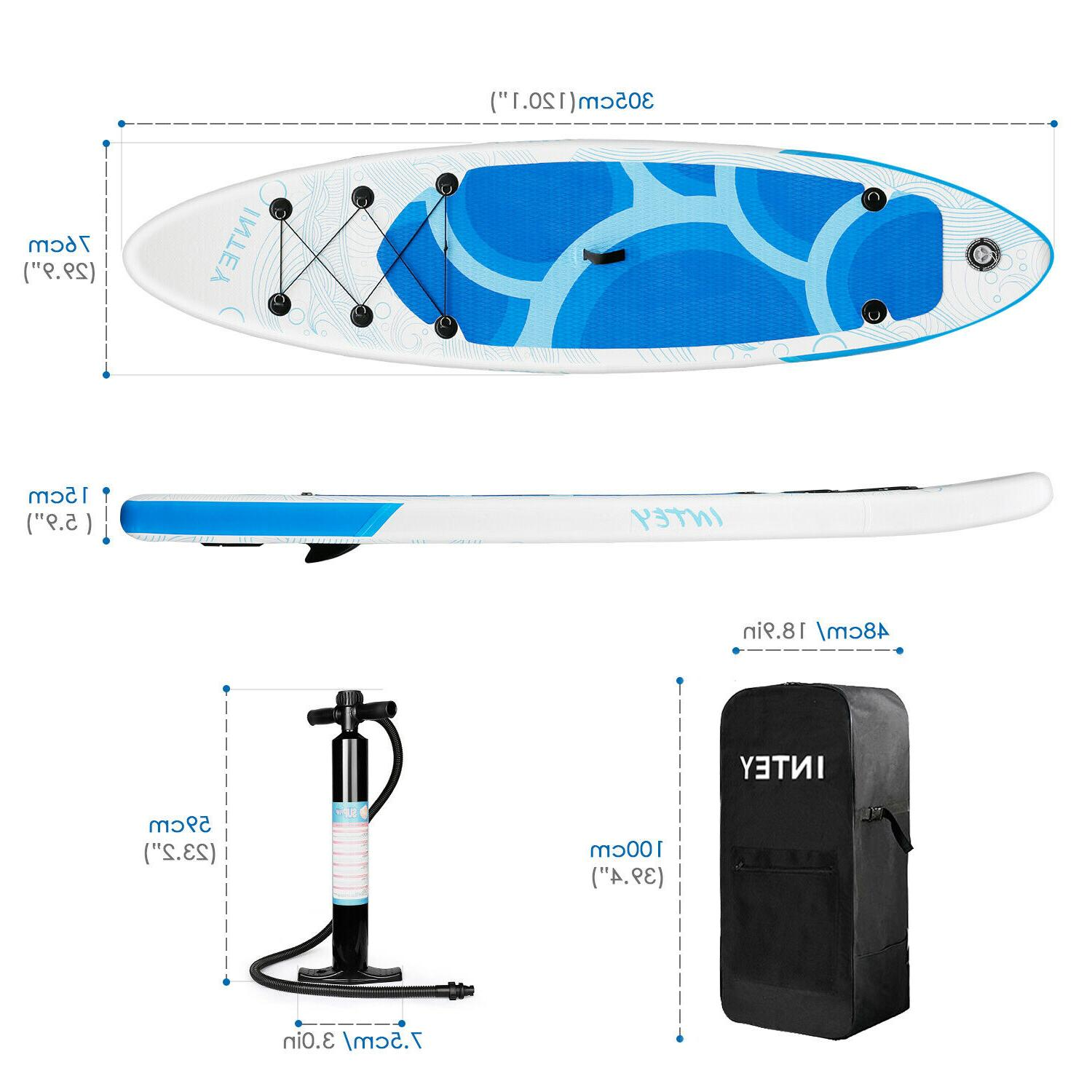 Inflatable Stand Board Paddleboard BlueWave
