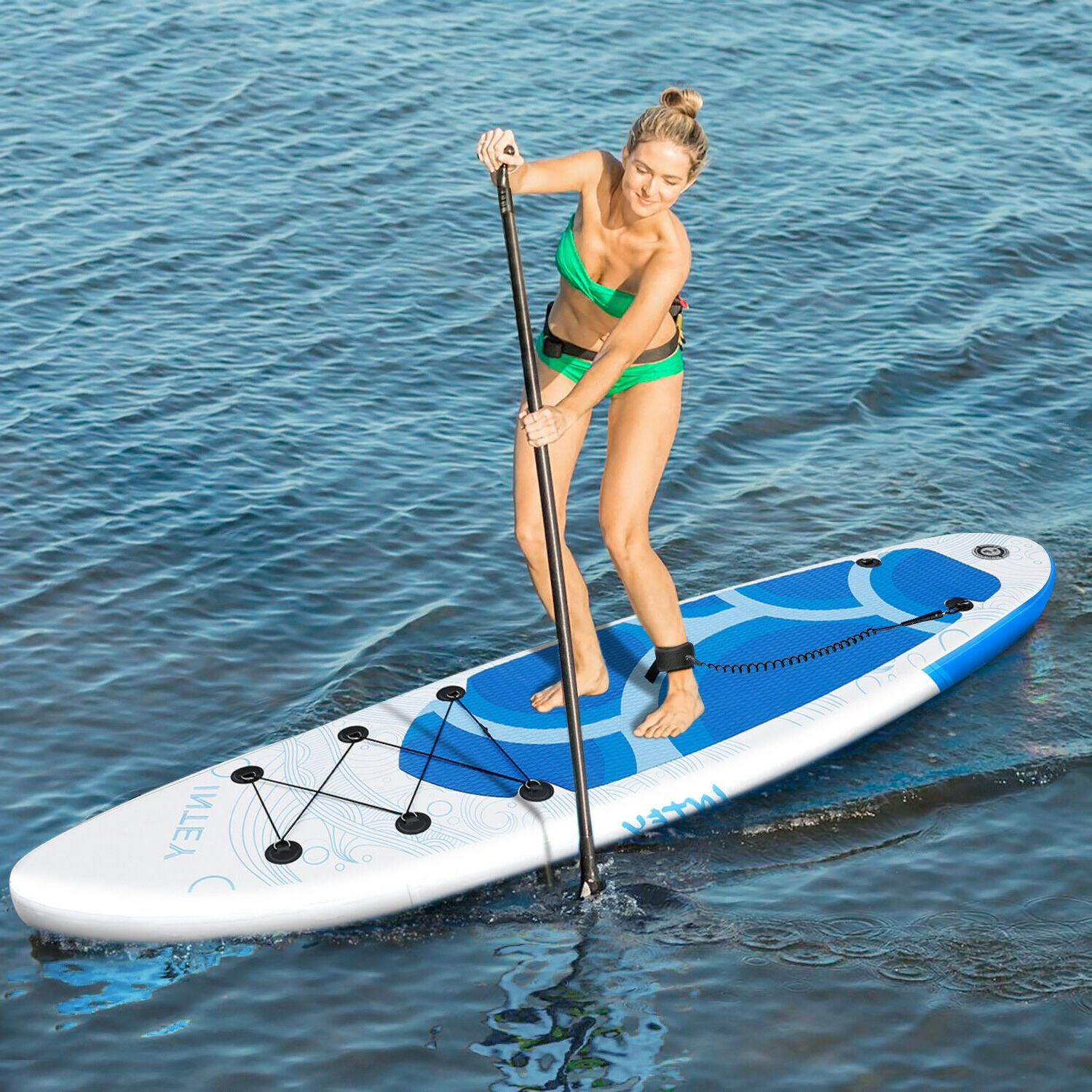 Board 10' SUP Standing Paddleboard BlueWave
