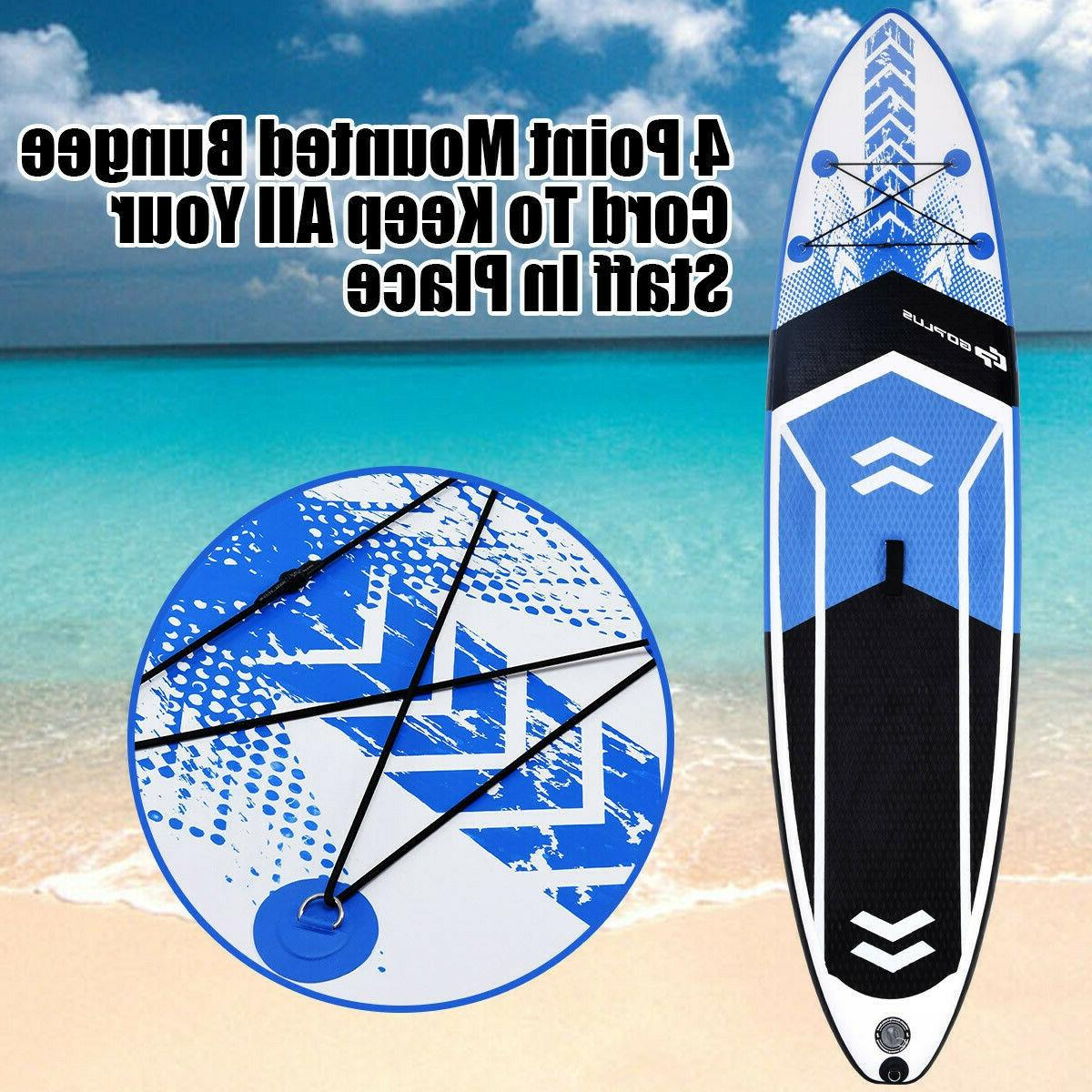 Inflatable Board 10' SUP w/ Bag Adjustable Fin