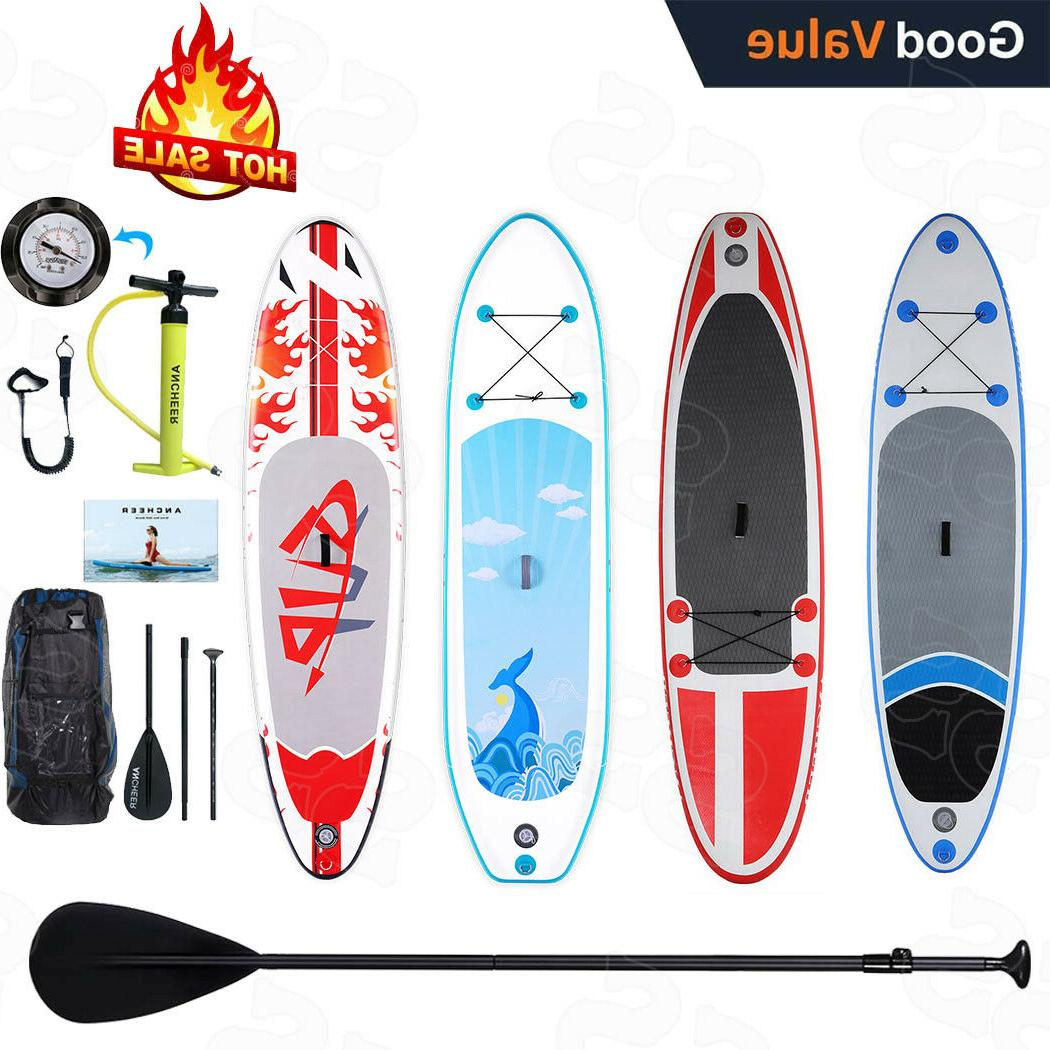 10ft inflatable sup stand up paddle board