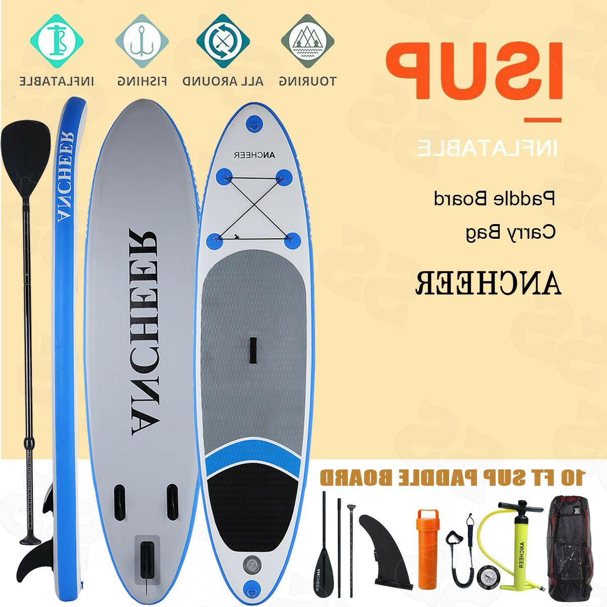 10' Inflatable Paddle w/ SUP Accessories Carry
