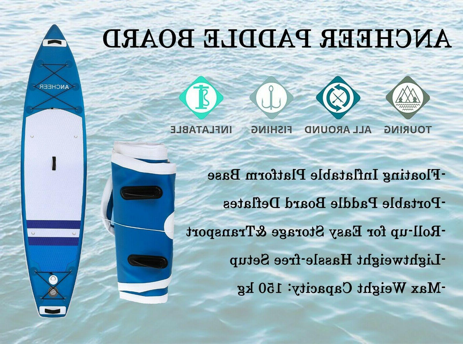 Ancheer Stand Up Paddle Board All-purpose 2 layer Kit