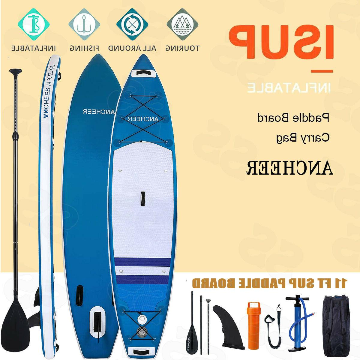 11ft inflatable stand up paddle board all