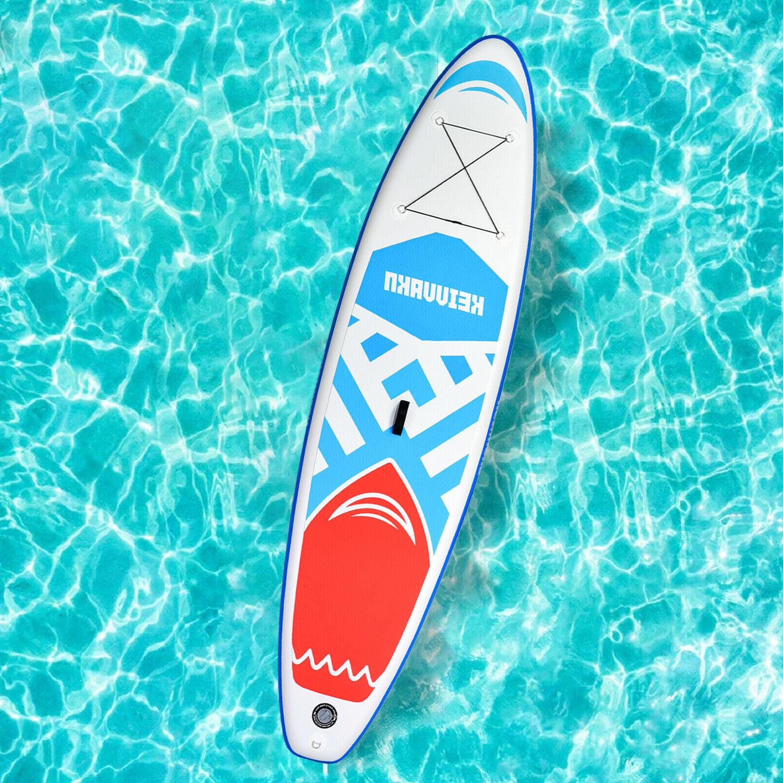 Inflatable Stand Board 11'x33''x6'' Wide Anti-Slip