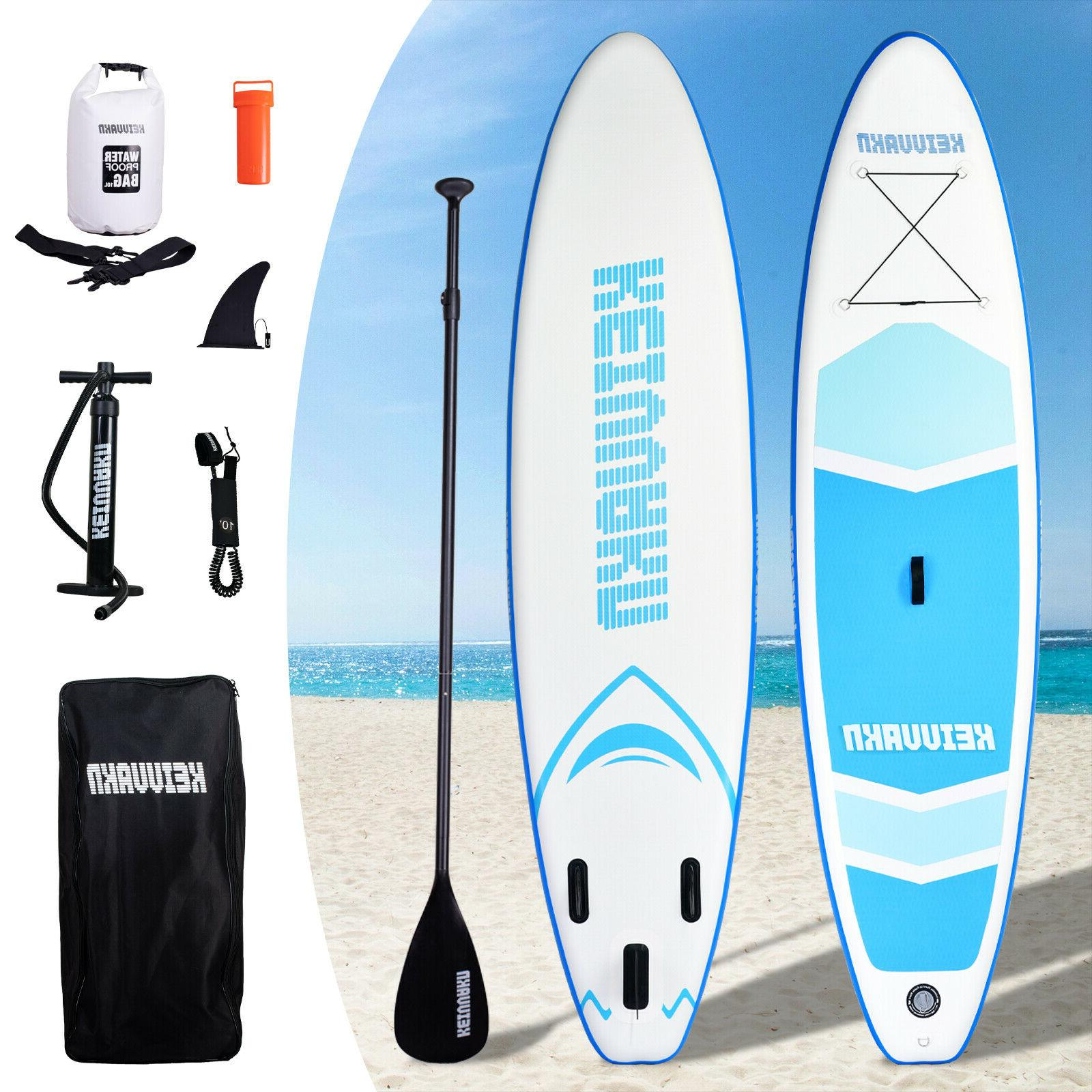 Inflatable Stand Board 11'x33''x6'' Stance Anti-Slip