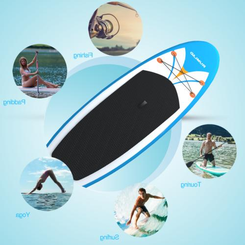 Inflatable Stand Up Board Inches Backpack