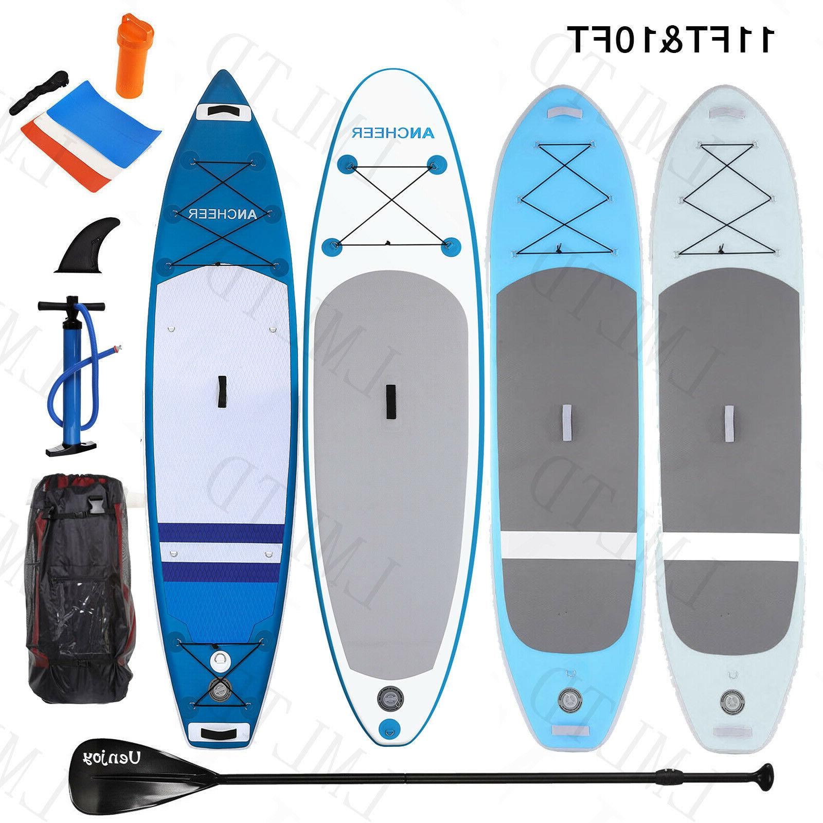 10'/11' Inflatable Stand Up Paddle Carbon Adjustable