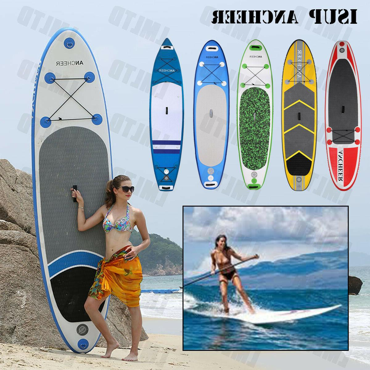 ANCHEER Up Paddle Board Bundle for Paddling