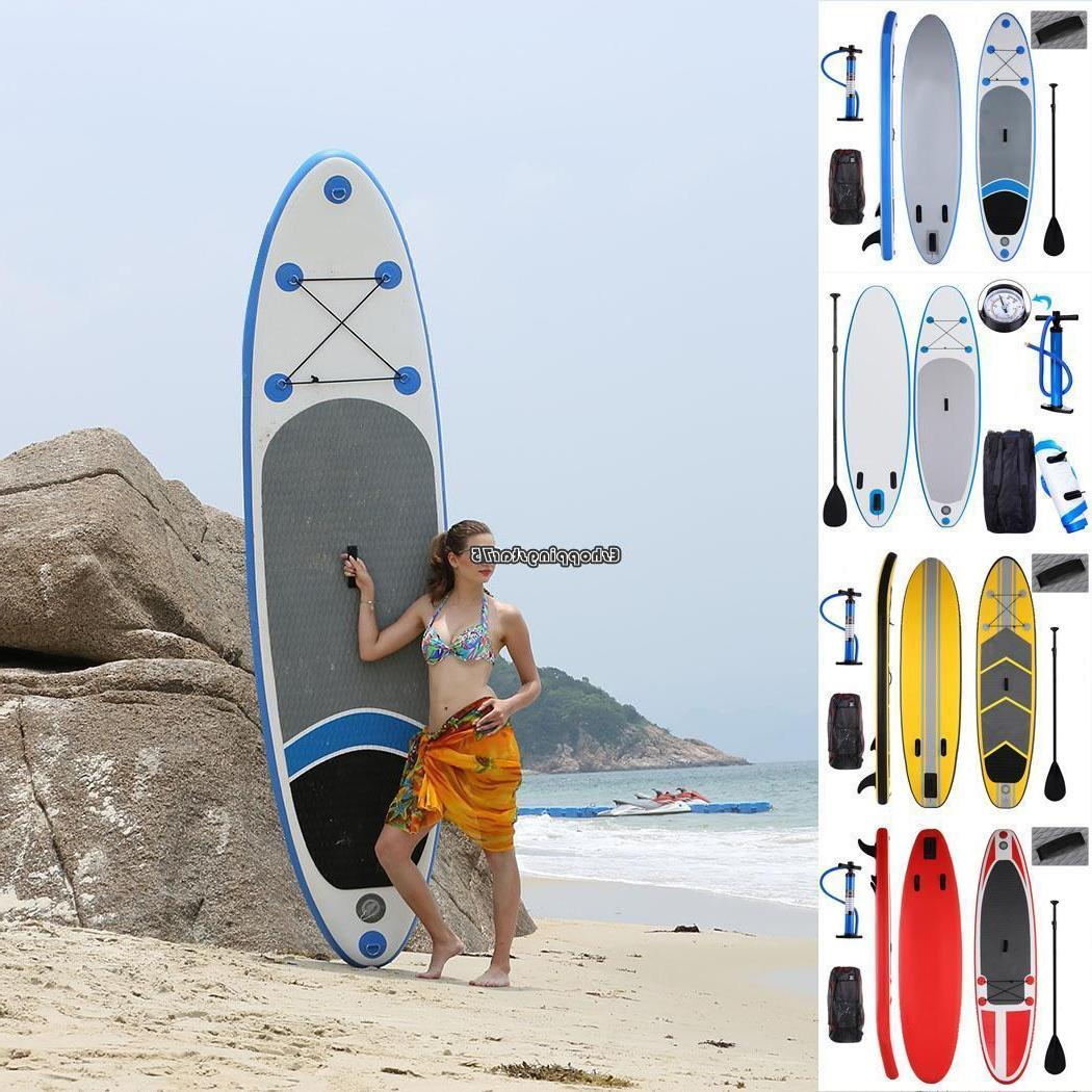 Inflatable Paddle Board with Bag