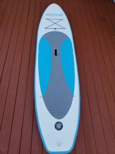 inflatable stand up paddle board 6 inches