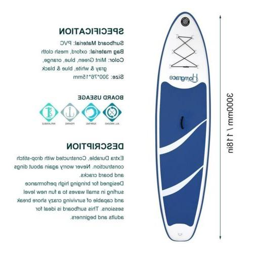 Inflatable Stand Up Board Universal Wide Stance MA
