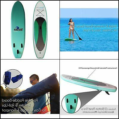 inflatable stand up paddle board 6 thick
