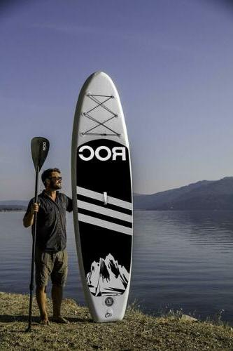 Inflatable Paddle Board by Roc W