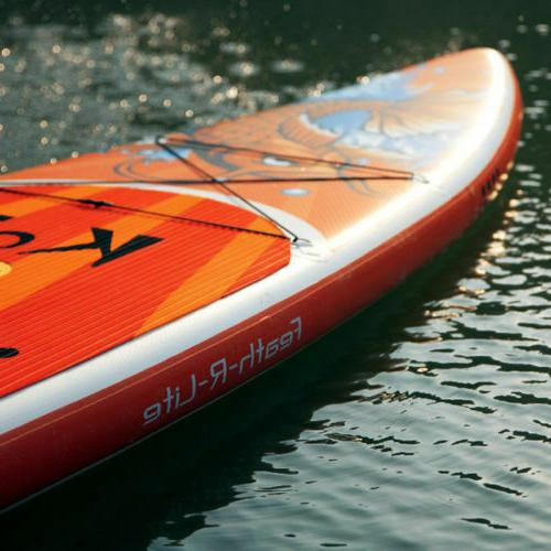 11'6'' Inflatable Stand paddle ISUP with kit