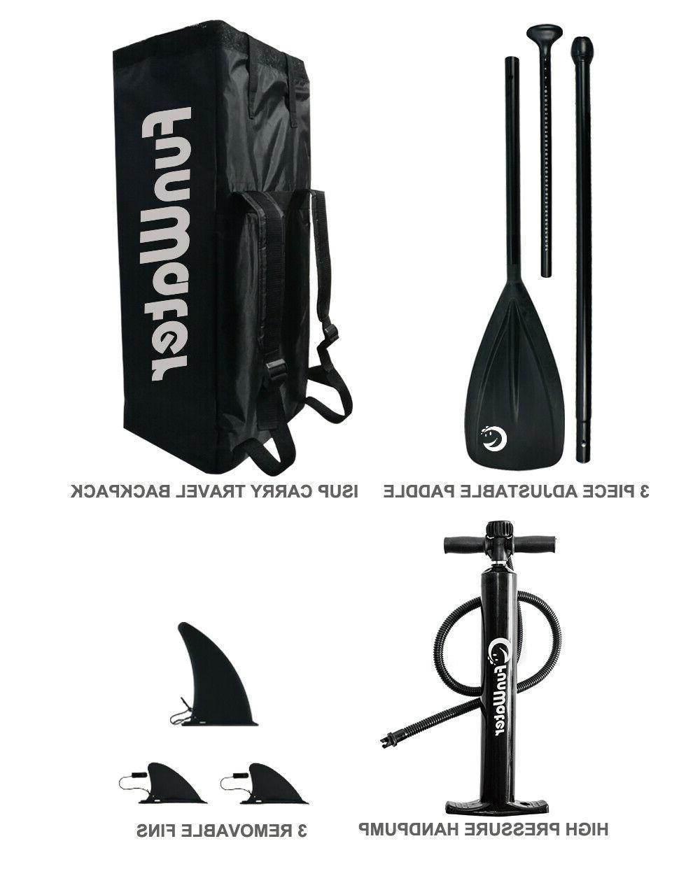SUP Stand Up Paddle Paddle,Backpack,leash,pumb