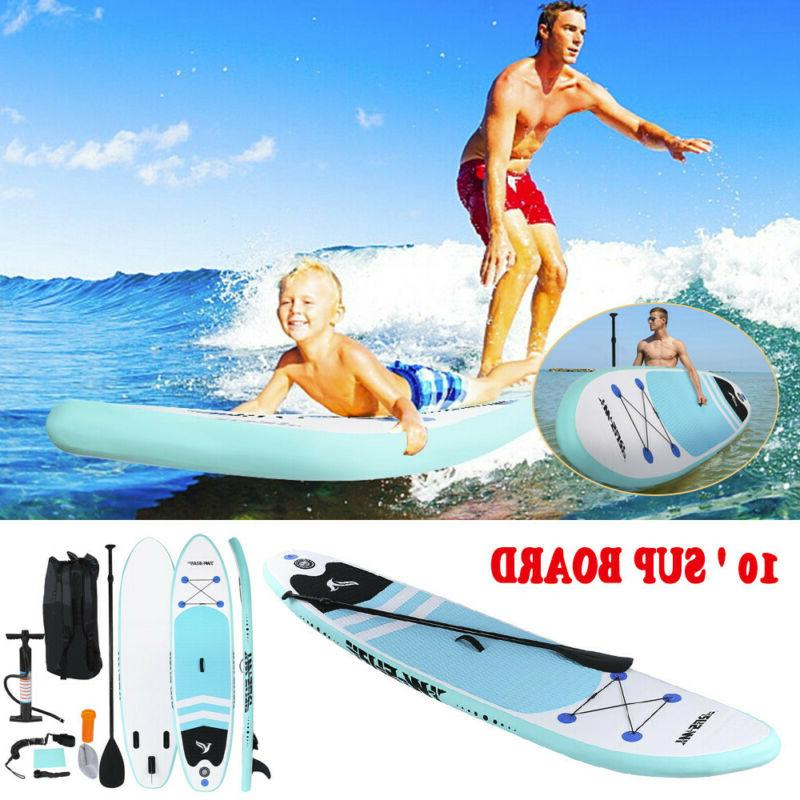 Inflatable SUP Stand Up Paddle Board 10FT Water Sports Surfb