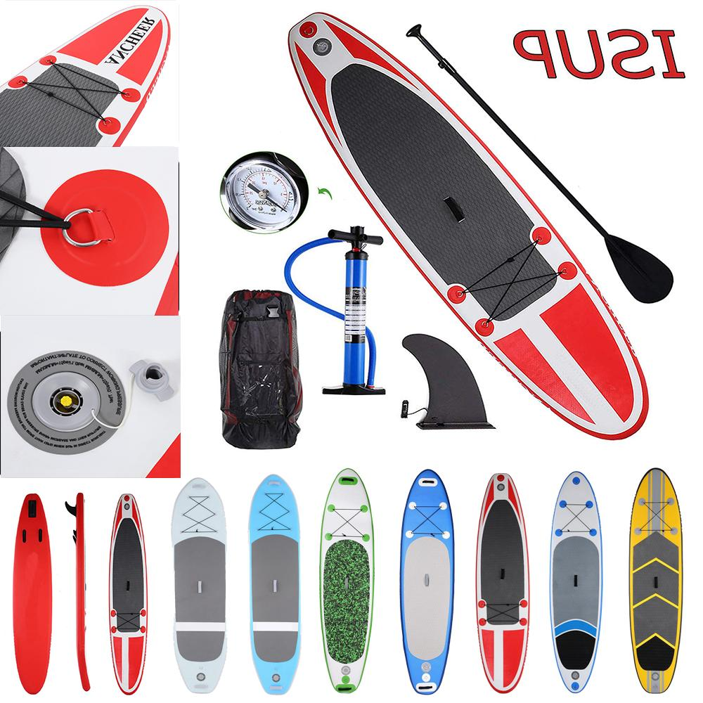 Ancheer Inflatable SUP Stand up Paddle Board Max user weight