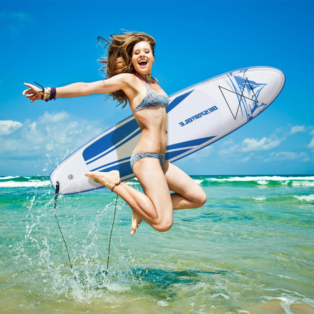 Inflatable Stand-Up Paddle Board Set Float For Youth