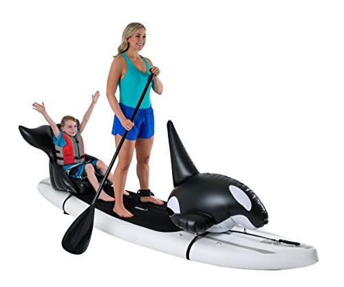 Stand Floats Toy Orca and seat Easily to Removable and