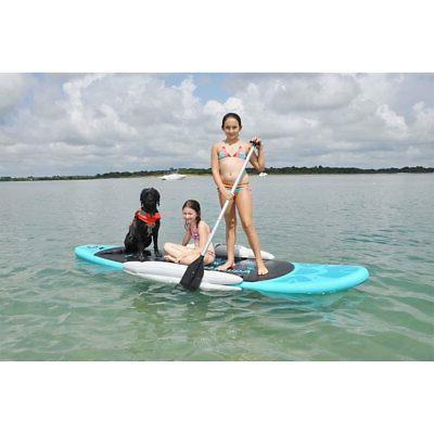 130 Wide Style Stand Paddleboard Blue