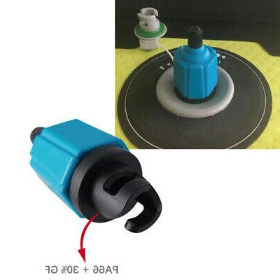 Inflator Air Valve Adaptor Paddle Boat Kayak Accessory US