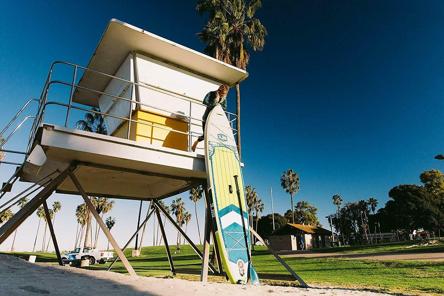 ISLE Surf 11' Inflatable Stand Up Board - Yellow /