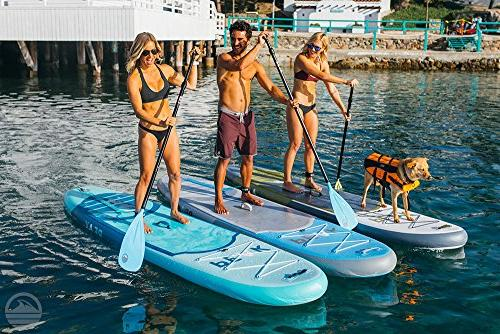 Peak Inflatable Up Package | Paddle, Leash