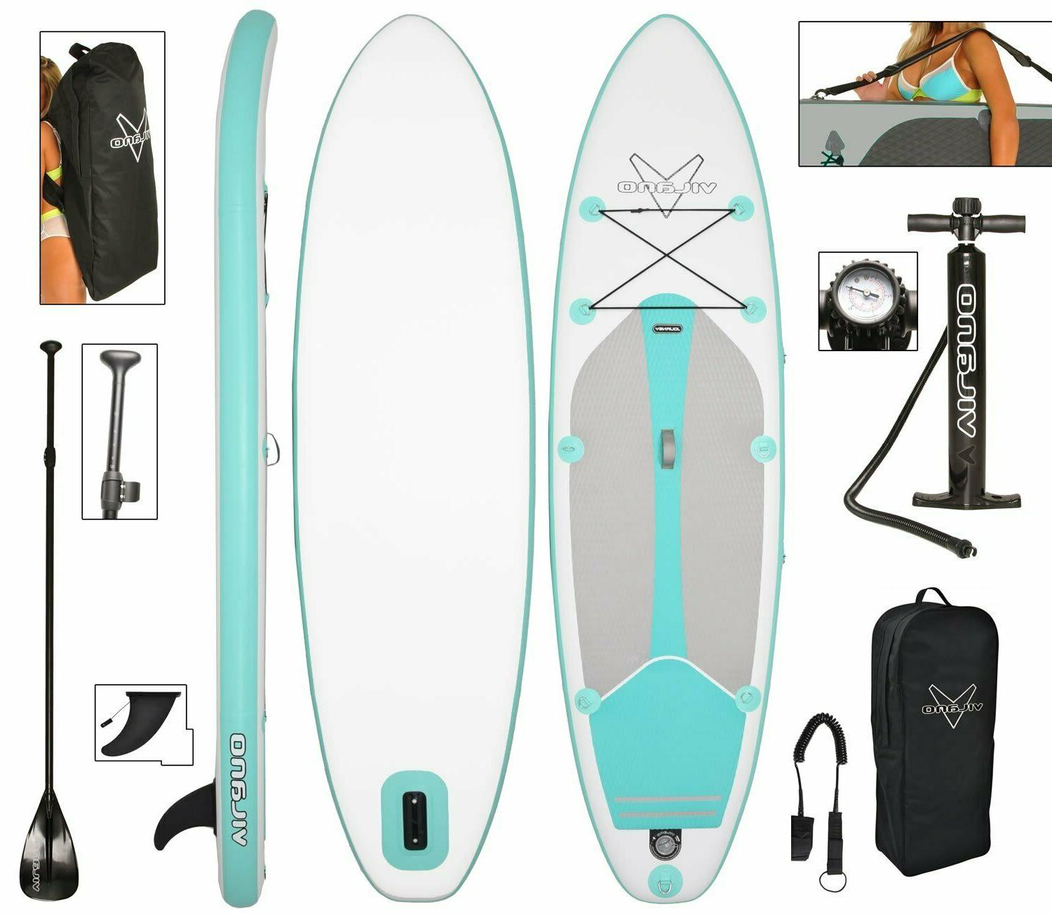 journey inflatable sup stand up paddle board