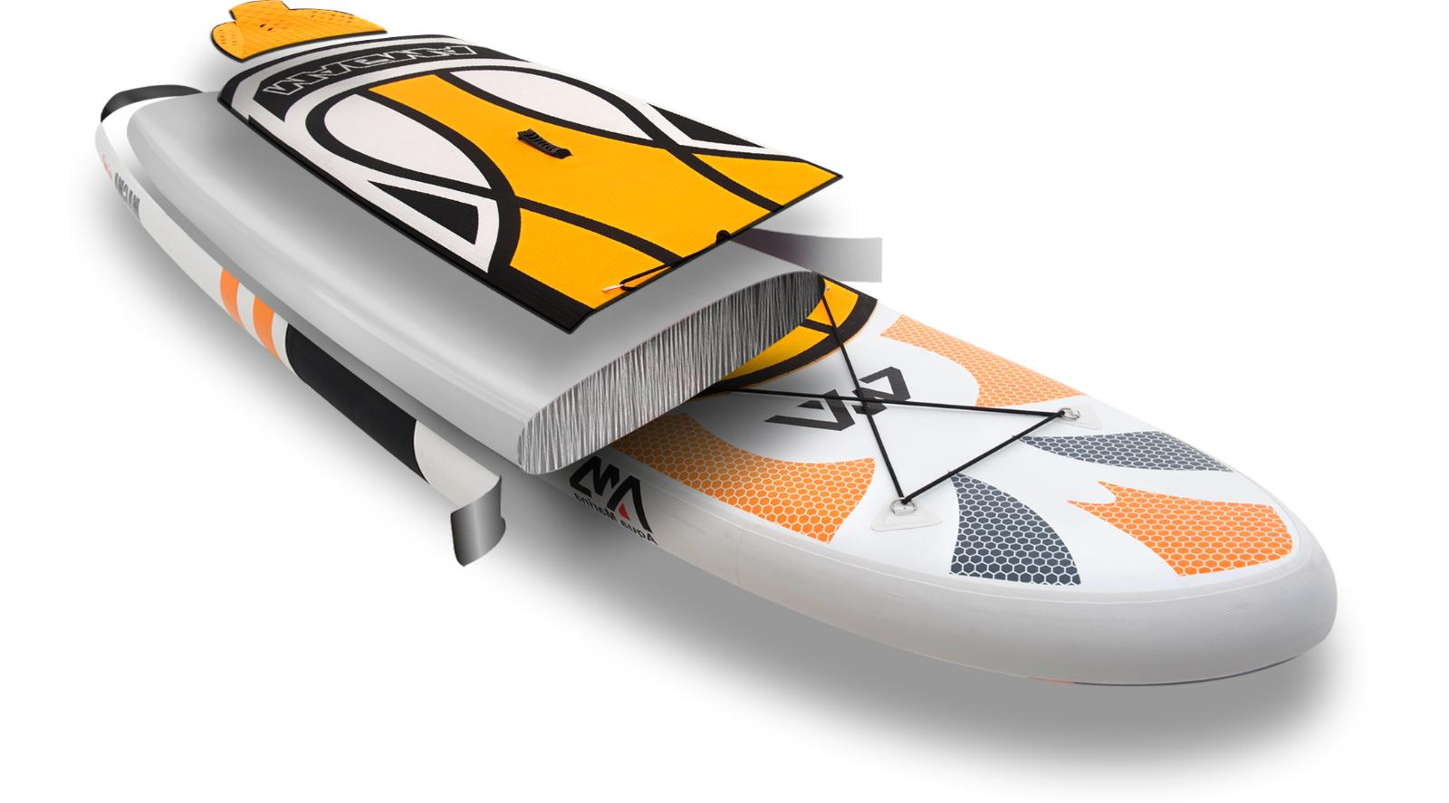 "Aqua Marina 10'10"" Stand Up Paddle Inflatable SUP"