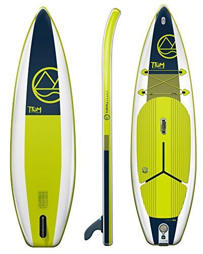 """Stand Board Green & Blue 10'4"""" Long, Thick 