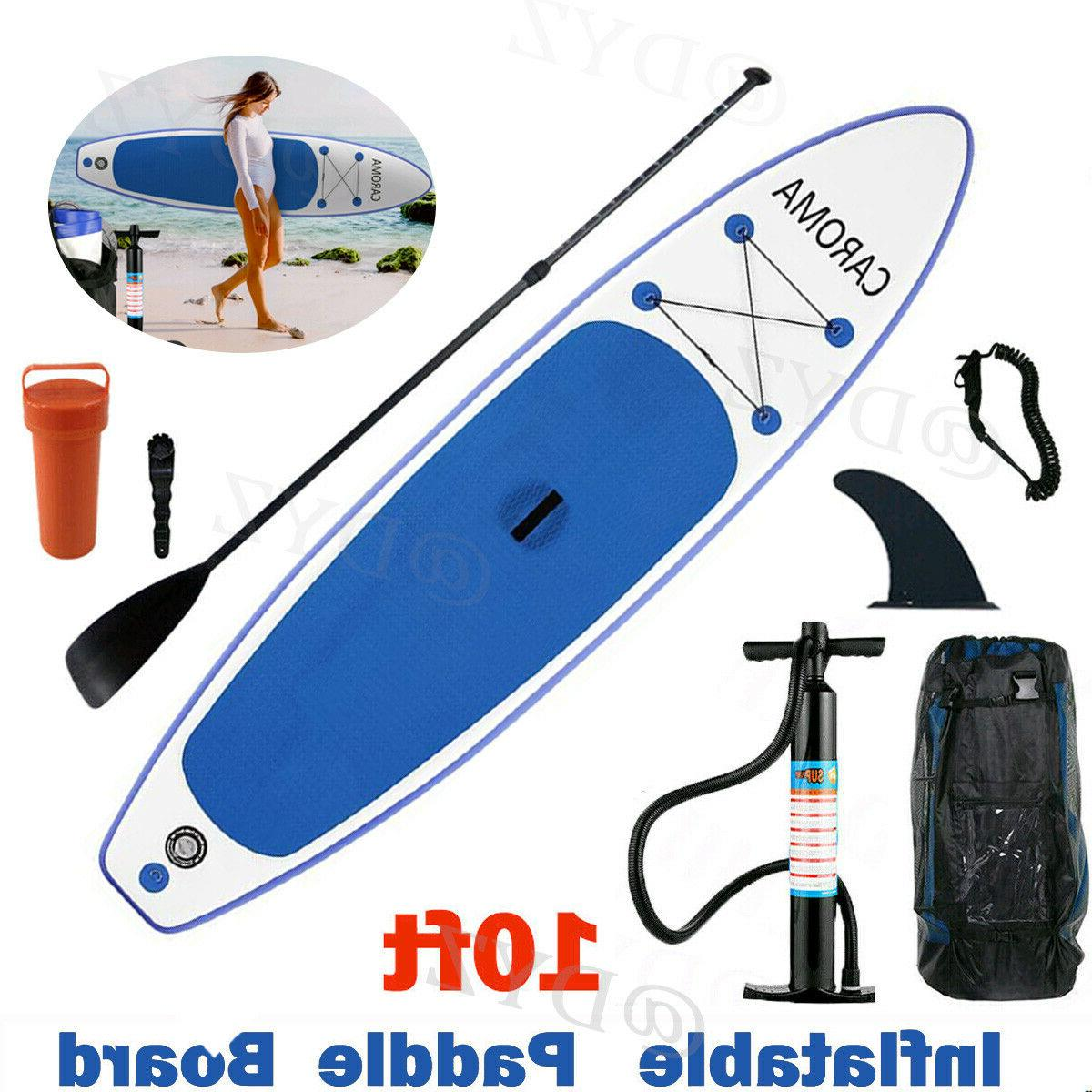 11 ft Inflatable Stand Up Paddle Board SUP Great Deck ISUP w