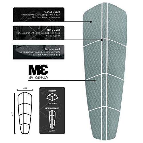 Punt Surf SUP Traction Pad 3M 12 Piece for Any
