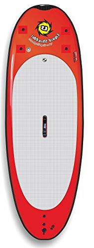 Liquid Shredder Paddleboard Softboard, Red, 9-Feet