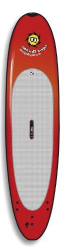 Liquid Shredder Paddleboard Softboard, Red, 11-Feet