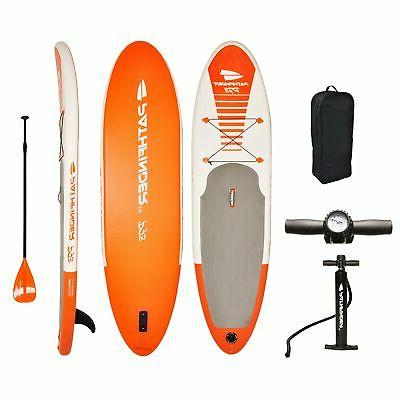 pathfinder inflatable sup stand paddleboard