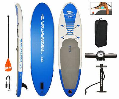 Pathfinder Inflatable Sup Stand Up Paddle Board Paddle