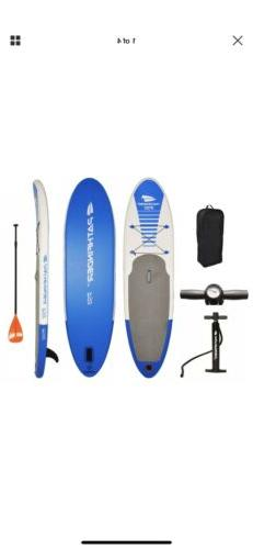 pathfinder inflatable sup stand up paddleboard 9