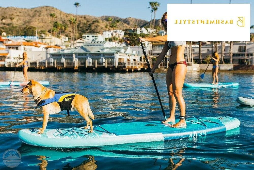 PEAK Expedition Inflatable Stand Up Paddle Board with Travel Bac