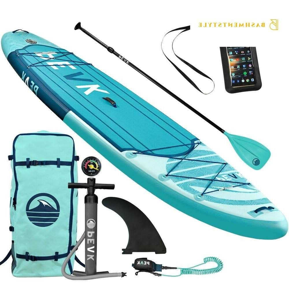 PEAK Expedition Stand Up Paddle with Adj Bac