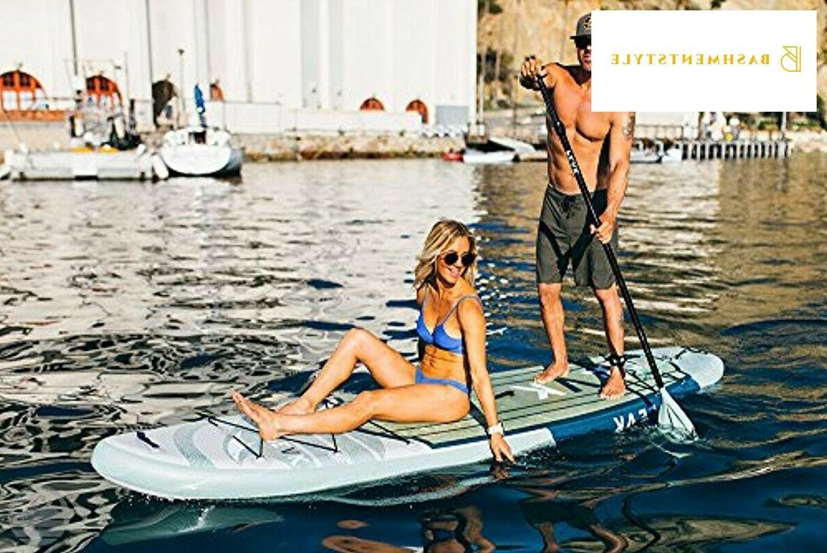 """Peak Expedition Inflatable Up Paddle 6"""" Thick Hybrid and"""