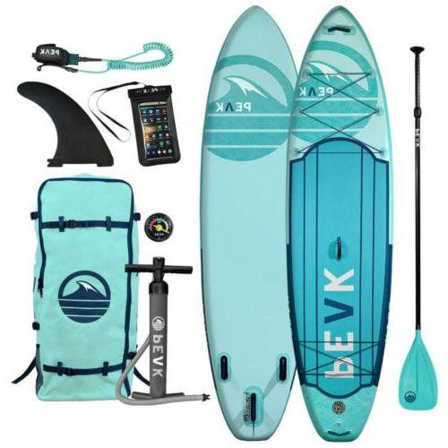 peak expedition premium inflatable stand up paddle