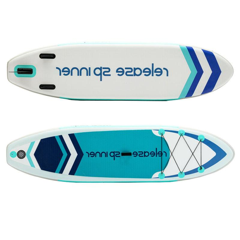 """Premium 10FT Stand Up Paddle SUP 6"""""""