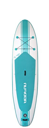 """Premium 10'6"""" Inflatable Paddle Board Surfboard 6"""" Thick w/Accessories"""