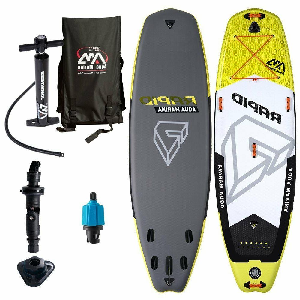 rapid river inflatable stand up paddle board
