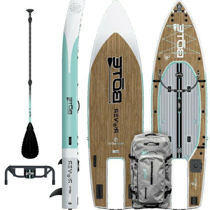 Bote Rover Aero Inflatable Paddle Board with accessories