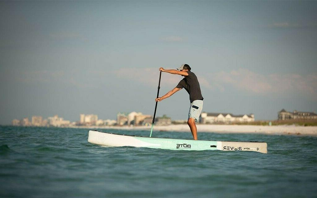 Bote Rover Paddle Board with accessories