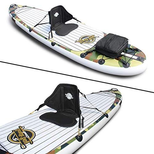 SBBC Up Paddle 10'6 Package Wide Layer inch Thick Inflatable Deck | Adult